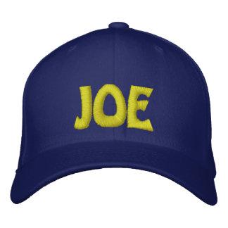 JOE EMBROIDERED BASEBALL CAP