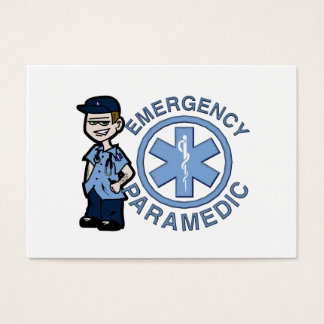 Joe Emergency Medic Business Card