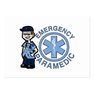 Joe Emergency Medic Business Card Template