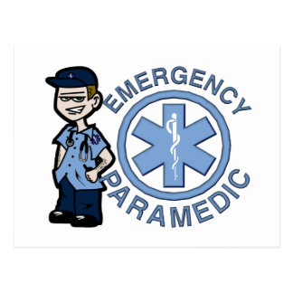 Joe Emergency Medic Postcard