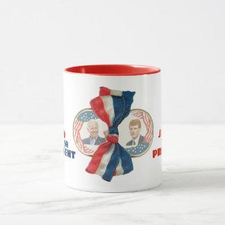 Joe for President AND Vice President Mug
