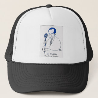 Joe Franklin caricature Trucker Hat