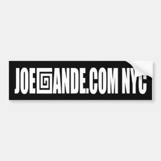 Joe Gande Bumper Sticker
