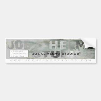 Joe Helms Studios bumper sticker