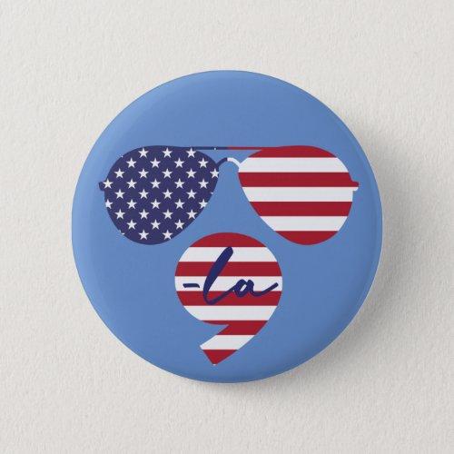 Joe Kamala symbols with flag Button