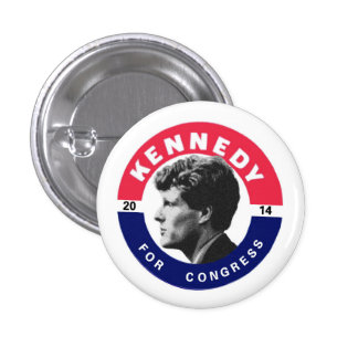 Joe Kennedy for Congress 2014 Pinback Button