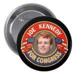 Joe Kennedy for Congress Buttons