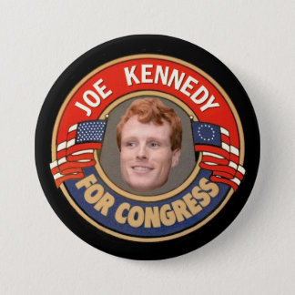Joe Kennedy for Congress Pinback Button