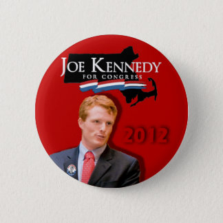 Joe Kennedy for Congress Red Button