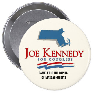 Joe Kennedy, III Camelot Restored Pinback Button