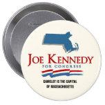 Joe Kennedy, III Camelot Restored Pins