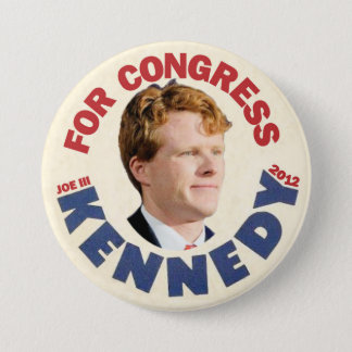 Joe Kennedy III for Congress 2012 Pinback Button