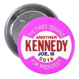 Joe Kennedy, III for President 2016 Button