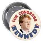Joe Kennedy III para el congreso 2012 Pin