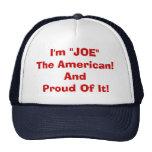 Joe, la gorra de béisbol americana