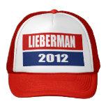 JOE LIEBERMAN 2012 GORROS BORDADOS