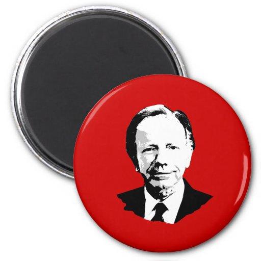 Joe Lieberman para el presidente Imán Redondo 5 Cm