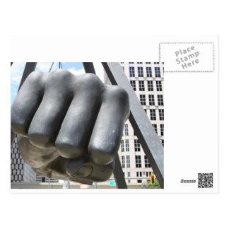 Joe Louis Fist Postcard