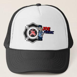 Joe Maltese Cross Large Trucker Hat