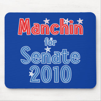 Joe Manchin for Senate 2010 Star Design Mouse Pad