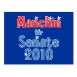 Joe Manchin for Senate 2010 Star Design Postcard