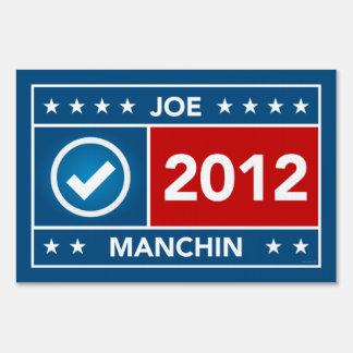 Joe Manchin Yard Sign