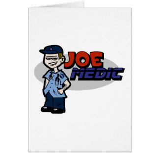 Joe Medic Paramedic Gifts Card