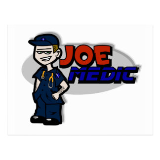 Joe Medic Paramedic Gifts Postcard