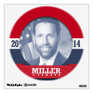 JOE MILLER CAMPAIGN WALL STICKER