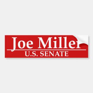 Joe Miller U.S. Senate Bumper Sticker