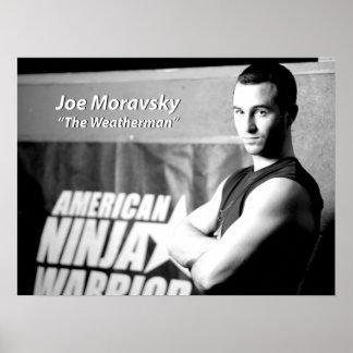 """Joe Moravsky """"el hombre del tiempo """" Póster"""