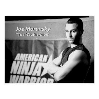 "Joe Moravsky ""The Weatherman"" Poster"