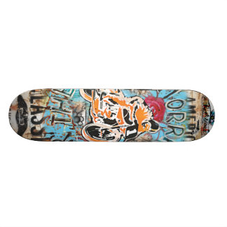 Joe Morris Art Moto Cafe Skate Deck