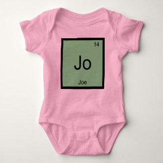 Joe  Name Chemistry Element Periodic Table T-shirt
