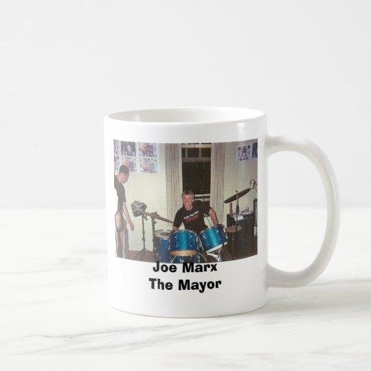 Joe on Drums GIF, Joe MarxThe Mayor Coffee Mug