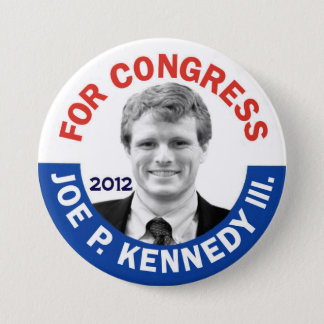 Joe P. Kennedy III for Congress 2012 Pinback Button