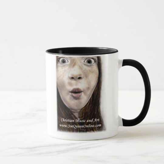 Joe Quinn artwork coffee mug