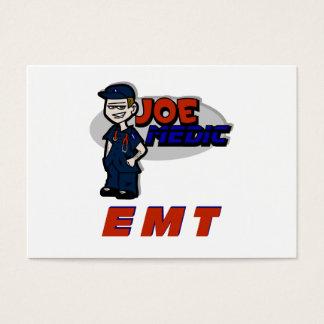 Joe Red EMT Business Card