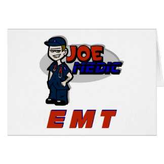 Joe Red EMT Card