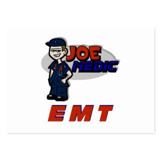 Joe Red EMT Large Business Card