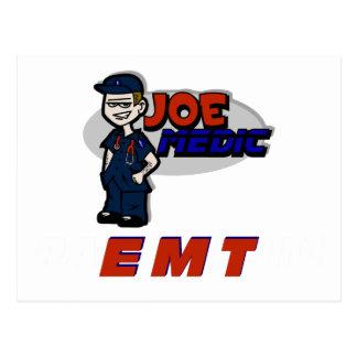 Joe Red EMT Postcard
