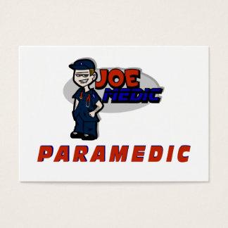 Joe Red Paramedic Business Card
