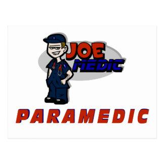 Joe Red Paramedic Postcard