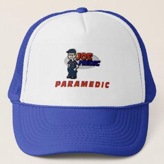 Joe Red Paramedic Trucker Hat
