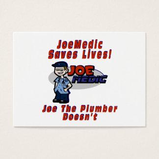 Joe Saves Lives Business Card