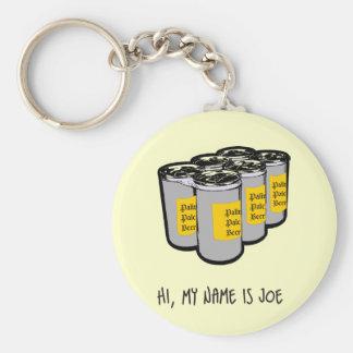 Joe Six Pack Keychain