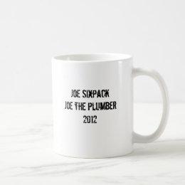 Joe Sixpack Joe the Plumber 2012 Coffee Mug