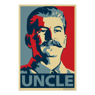 Joe Stalin - tío: Poster de OHP