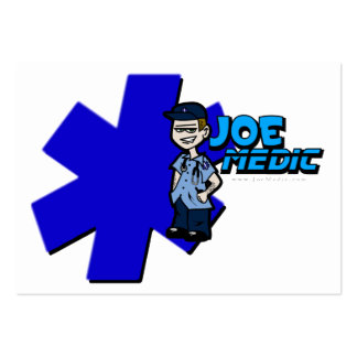 Joe star of life Large Business Card Template