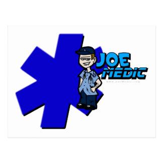 Joe star of life Large Postcard